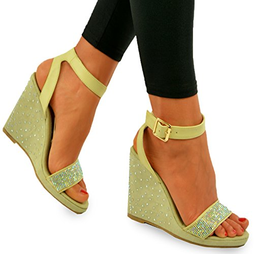 Cucu Mujer Zapatos De Beige Fashion Tacón BrBIq7wU
