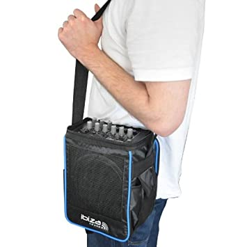 Portable Enceinte UsbMp3 Ibizaport Bandoulièreentrée Sac 6 Avec pUSjLqzVMG