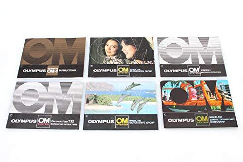 Olympus LOT OM1/FLASH/WINDER/MOTOR Drive/Lens Manuals LOT 6 from CAMERA MANUAL