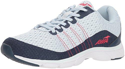 Avia Women's Avi-Rove-II Walking Shoe, Chiffon Insignia Blue/Azalea Pink, 6.5 M US