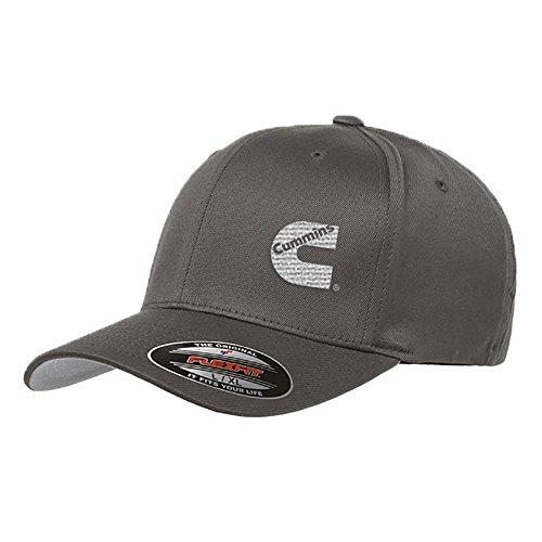 cummins-diesel-flexfit-hats-large-xl-dark-grey