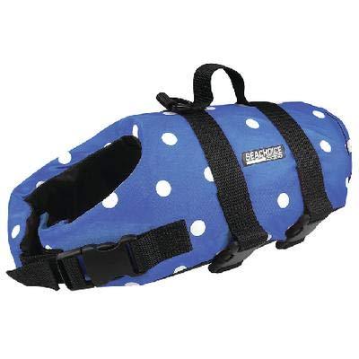 Polka Dot Pet Life Vest - Seachoice 86280 Dog Life Vest