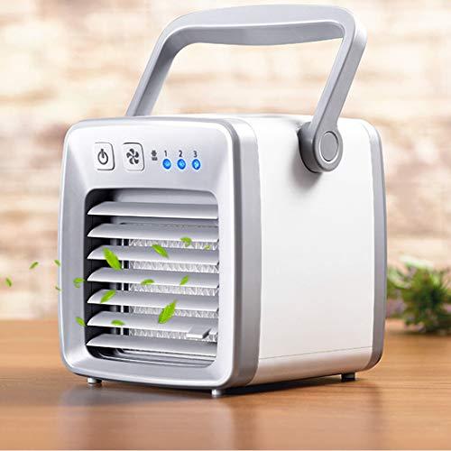 DELAISUS Mini Air Conditioning Conditioner Portable Fan Home Quiet Cooler USB