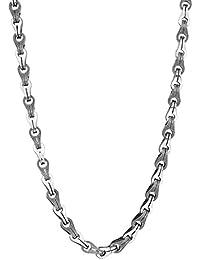 """<span class=""""a-offscreen"""">[Sponsored]</span>Di Modolo Men's Centauro Sterling Silver Chain Necklace"""