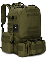 PME Backpack I 1000D Oxford Classical Military Hiking Camping Travel Backpack 50L
