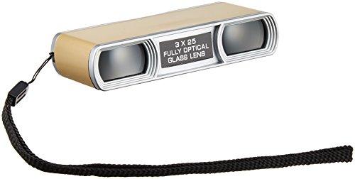 25 mm caliber Compact Gold pet 300GD 3 times MIZAR-TEC opera glasses