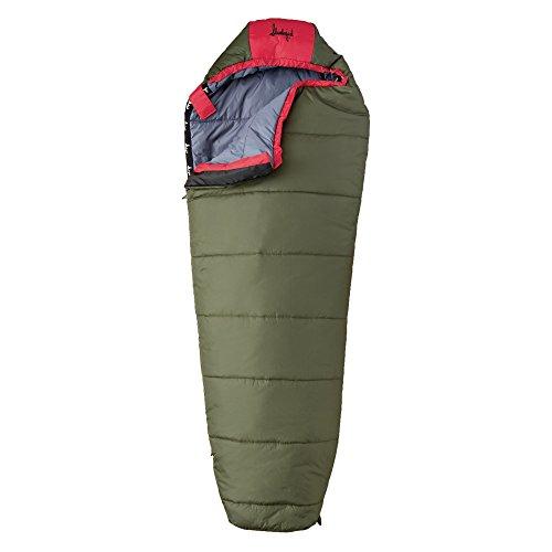 Big Scout 30 Degree Kids Sleeping Bag - Boys - Slumberjack Camping Pillow