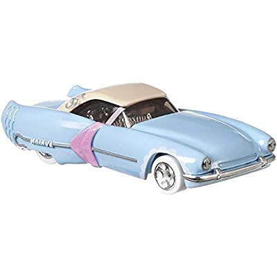 Hot Wheels Disney Pixar Toy Story 4 Character Cars - Little Bo Peep - Baby Blue Convertible: Toys & Games