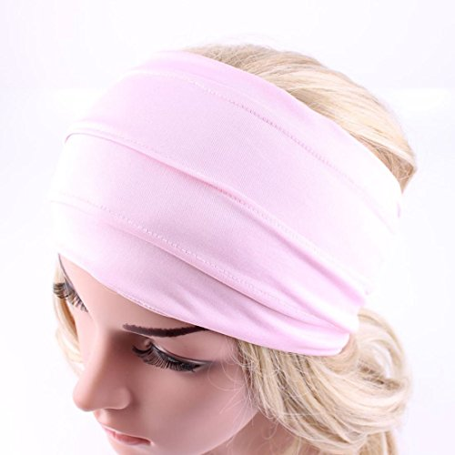 [Usstore 1PC Women lady Headwear Winter Warm Boho Headband Running (Pink)] (Mail Order Bride Adult Costumes)