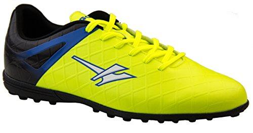 Gola Rey VX AMA666 Botas de Fútbol para Hombre Amarillo y negro