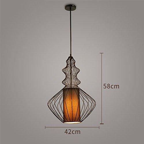 Retro Lampadario 63cm Lighting Dimensioni Cinese Cafe Vento Gyp Abbigliamento 58cm 22 Negozio Birdcage 42 Di Industriale qUHxwSRn