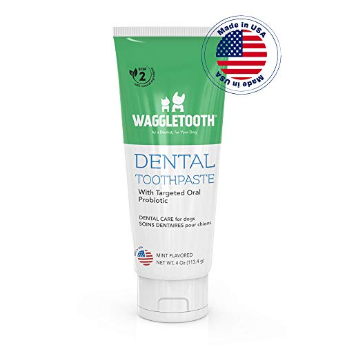 Natural Dog Toothpaste Enzymatic with Probiotics – Toothpaste for Dogs Reduces Tartar and Plaque – Manufactured in USA…
