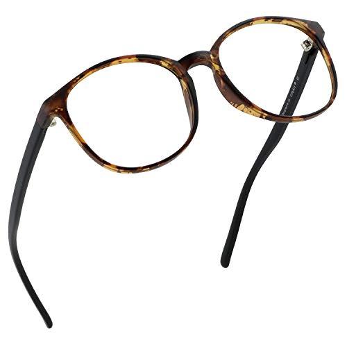 LifeArt Blue Light Blocking Glasses, Anti Eyestrain, Computer Reading Glasses, Gaming Glasses, TV Glasses for Women Men, Anti UV, Anti Glare (Tortoise, 0.25 Magnification) from LifeArt