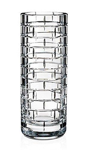 - Rogaska Quoin Round Bud Vase