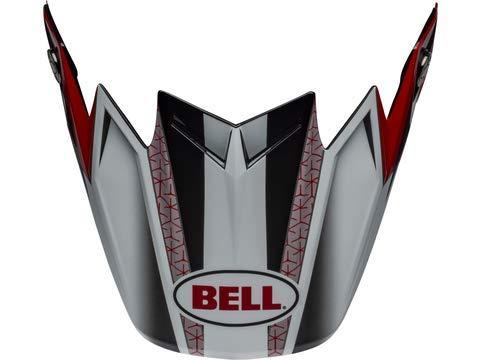 Bell Moto-9 Visor Prophecy Matte Orange//Black//Gray