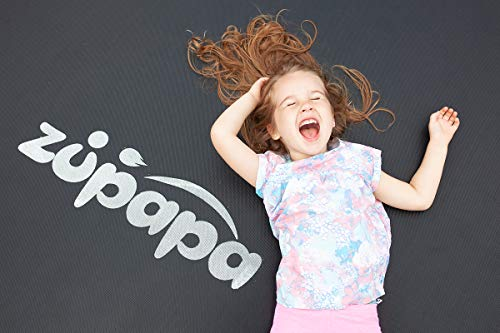 Zupapa 15FT 14FT 12FT TUV Approved Kids Trampoline with Enclosure net, Ladder Pole Safety Pad Jumping Mat Spring Pull T-Hook, Include All Accessories, Great Outdoor Backyard Trampoline (15FT) by Zupapa (Image #5)