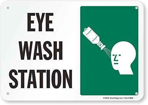 "SmartSign ""Eye Wash Station"" Sign 