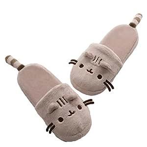 GUND Pusheen Plush Slippers