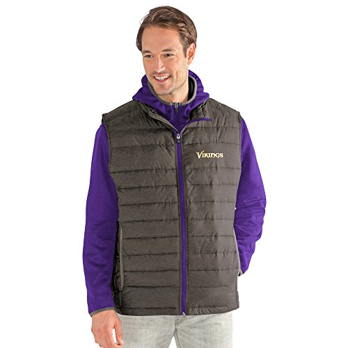 G-III Sports by Carl Banks Adult Men Cold Front 3-in-1 Systems Jacket, Purple/Gray, XX-Large