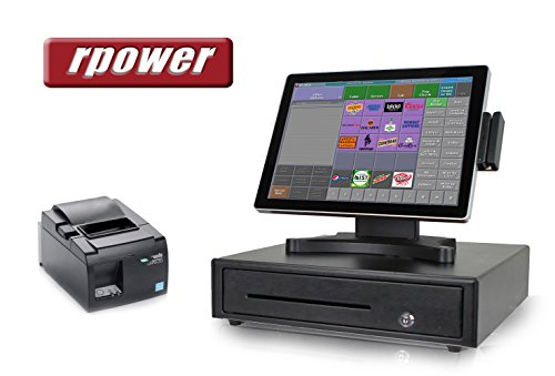 Restaurant POS System - Includes RPOWER POS Software + Point of Sale Hardware Bundle - Perfect for Restaurants and Bars