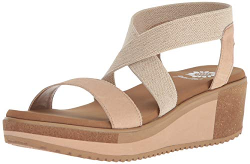 Yellow Box Women's Janalee Sandal, Tan, 9.5 M ()