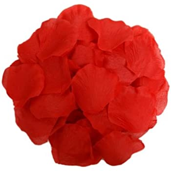 Amazon balsacircle 2000 red silk artificial rose petals wedding balsacircle 2000 red silk artificial rose petals wedding ceremony flower scatter tables decorations bulk supplies wholesale mightylinksfo
