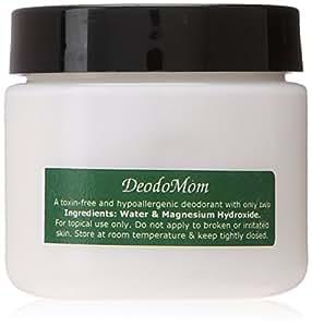 DeodoMom Jar - A Hypoallergenic Cream Deodorant: ZERO% Aluminum, Alcohol, Scent, Dye, Parabens; 100% Vegan.