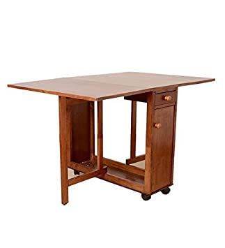 HomeTown Compact Four Seater Dining Table (Walnut)
