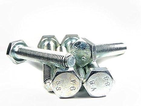 ISO 4017 St Sechskantschraube D 933 verz Schraube verschiedene Größen+Längen