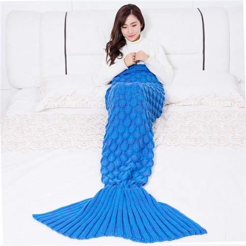Kathshop Cilected Mermaid Throw Blanket Handmade Mermaid Tail