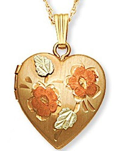 Black Hills Gold Heart Locket ()