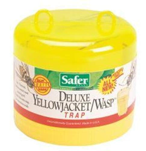 Safer Brand 00280 Deluxe Jacket Wasp Trap with Bait