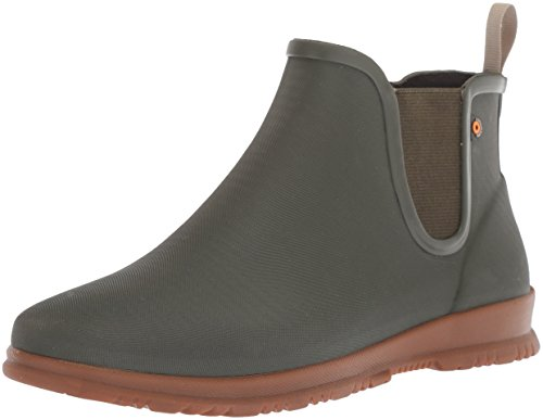 Bogs Women's Sweetpea Rain Boot, Sage, 9 M US