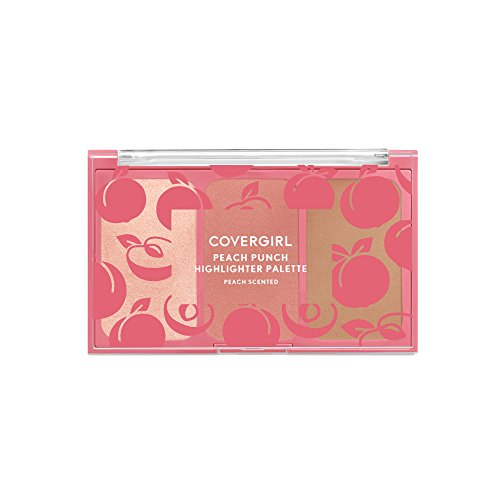 Covergirl Peach Scented Highlighter Palette, 100 Peach Punch