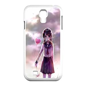 James-Bagg Phone case Bansky Girl Protective Case For SamSung Galaxy S4 Case Style-10