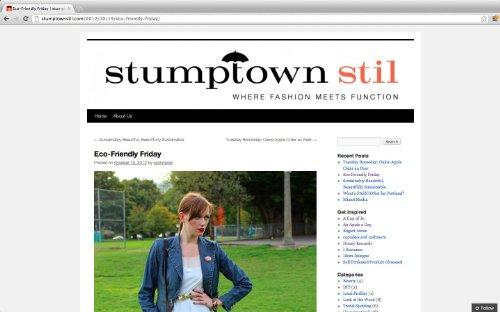 Stumptown Stil - Fashion Blogs Portland