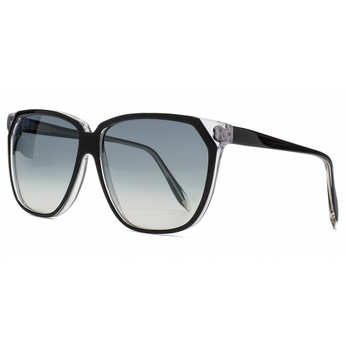 Victoria Beckham Stepped Square Sunglasses in Black - VB0131 - VBS46 - Victoria In Sunglasses Beckham
