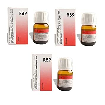 3 x Dr  Reckeweg - Homeopathic Medicine - R89 - Hair Care Drops