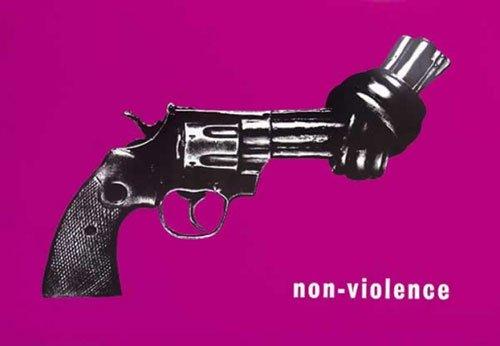 非暴力 – フレーム付きポスター/印刷(サイズ: 36