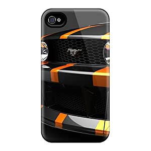 New Style Tpu 4/4s Protective Case Cover/ Iphone Case - Mustang