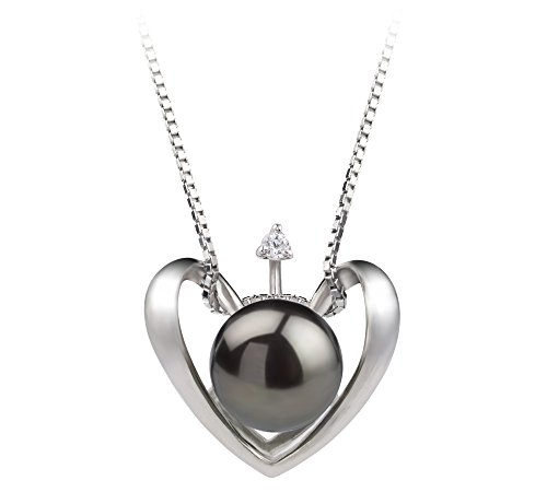 Amazon #DealOfTheDay: 57% off Pearl Heart Pendants from PearlsOnly