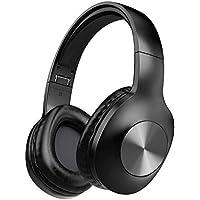 Letscom H10 Over Ear Wireless Headphones with Deep Bass (Black)