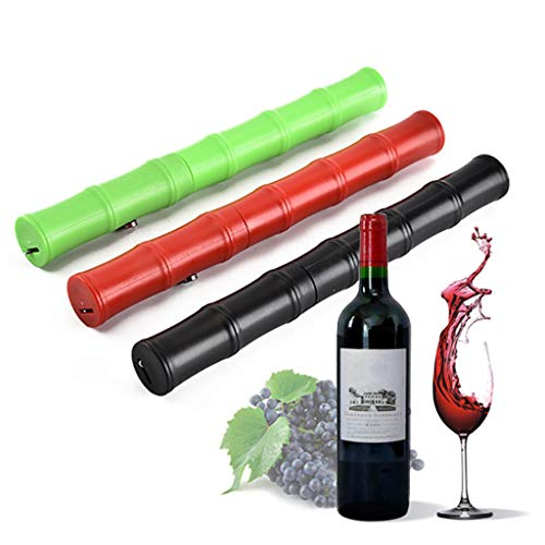 JDgoods New Multiple Color Wine Air Pressure Pump Bottle Opener - Top Corkscrew Remover Tool with Foil Cutter, The Favoured Wine Opener of Sommeliers, Waiters and Bartenders - Abs Corkscrew