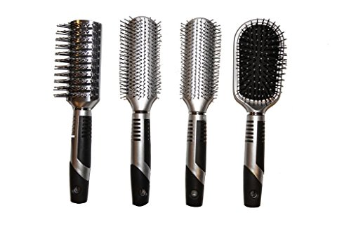 Viva Icicles Professional Hair Brush Set (4 Pack)