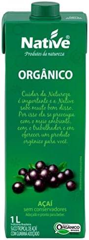 Açaí com Guaraná Orgânico Native 1L