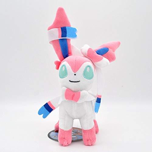 Hot Pokemon Eevee Plush Dolls 16cm Glaceon Leafeon Umbreon Espeon Jolteon Vaporeon Flareon Sylveon Toy for Kids 003