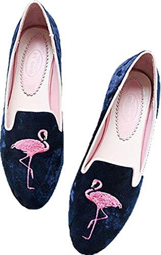 Sur Chaussures Aaaa5 Glisser Plat Arraysa Ballerines 1CM Femme S1qXP