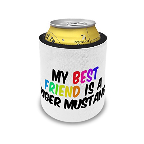 Slap Can Coolers My best Friend a Kiger Mustang, Horse Insulator Sleeve Covers (Kiger Mustang Horse)