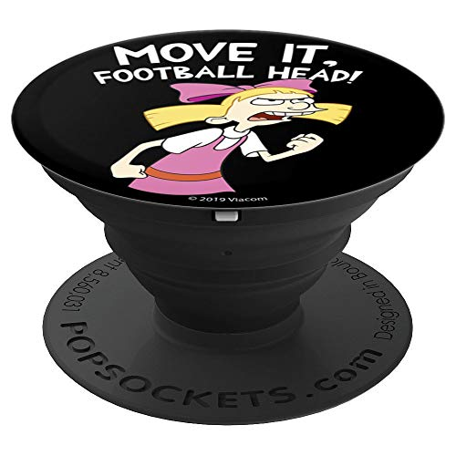 (Hey Arnold Helga Move It Football Head - PopSockets Grip and Stand for Phones and Tablets)