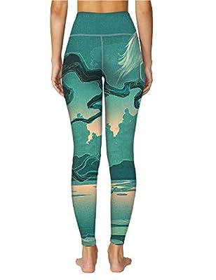 O2YO Women's Capris Unique Artistic Fantasy Print Pants Series - Compression Leggings